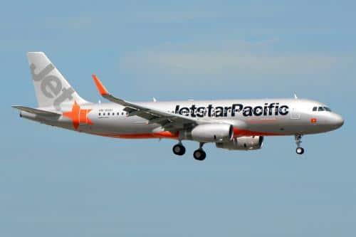 Jetstar Pacific mở bán vé máy bay giá chỉ hơn 30.000 đồng. Ảnh: Jestar Pacific