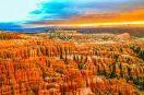 Vẻ đẹp độc đáo của vườn quốc gia Bryce Canyon nước Mỹ